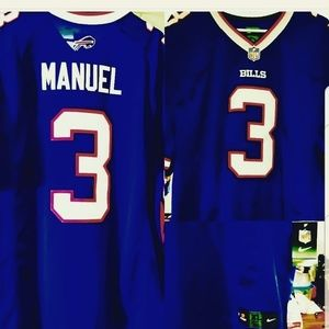 EJ Manuel Nike Buffalo Bills Football Jersey